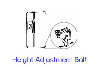 Height Adjustment Bolt